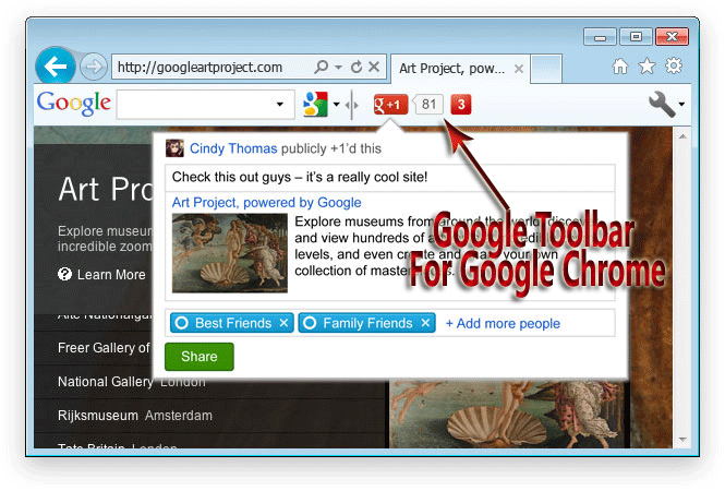 Google Toolbar For Google Chrome