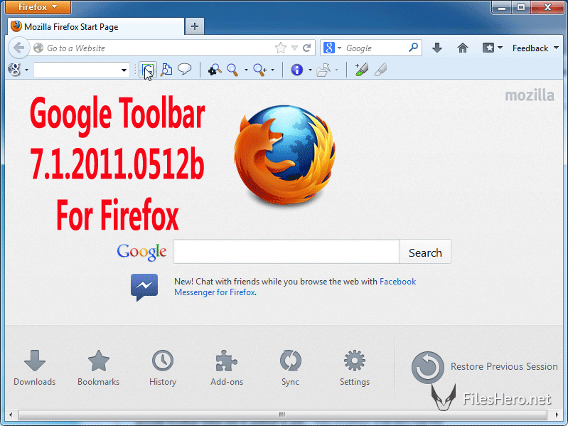 Google Toolbar 7.1.2011.0512b For Firefox