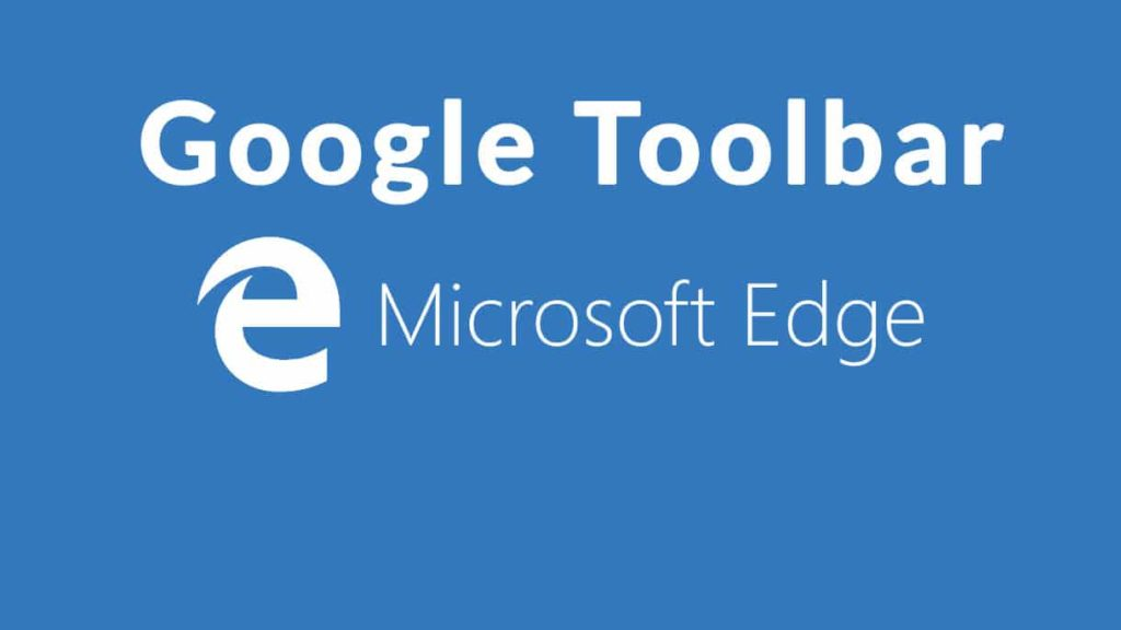 Google Toolbar For Microsoft Edge