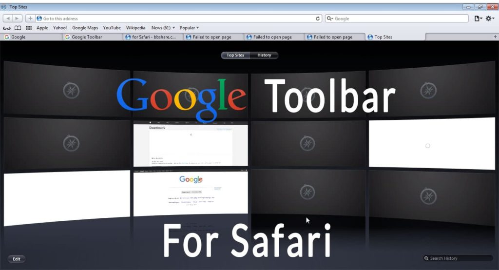 Download Google Toolbar for Safari Mac or Windows