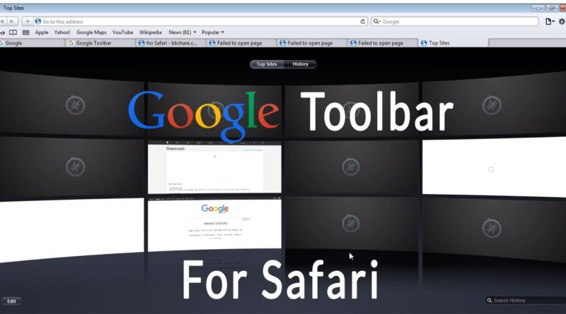 Download Google Toolbar for Windows 7, 10, Internet Explorer